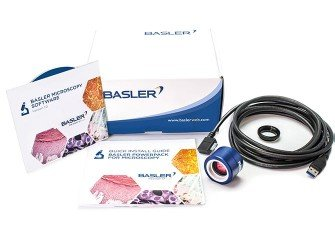 Basler PowerPack Microscopy - Basler PowerPack for Microscopy with Microscopy pulse 3.3 MP