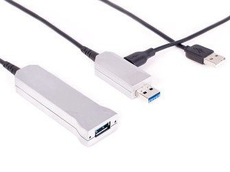 - Cable USB 3.0, Ext. A female / A male, 20 m