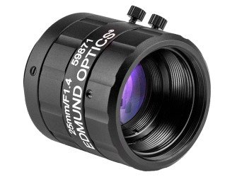 - Edmund Optics Lens CFFL F1.4 f25mm 2/3