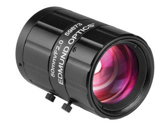 - Edmund Optics Lens CFFL F2.0 f50mm 2/3