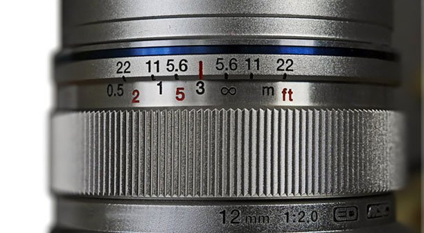 Interaction of Focal Length & Sensor Size