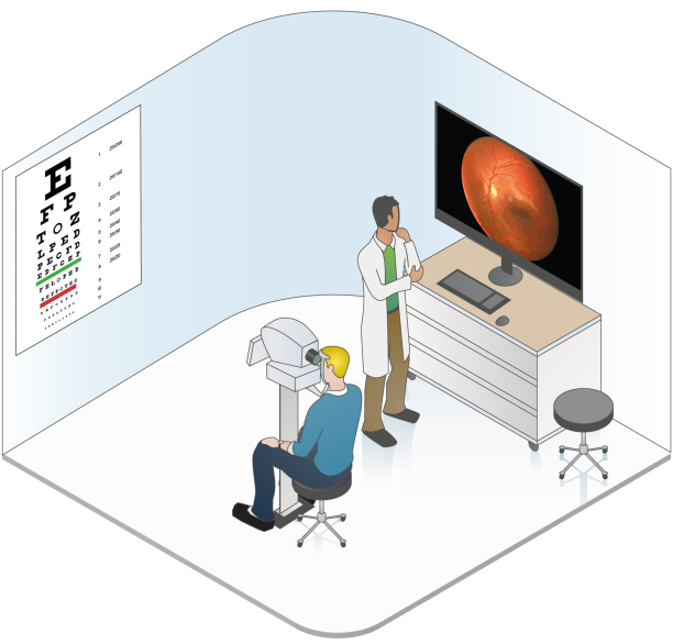 1st Floor: Eye exams