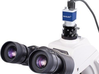 Basler PowerPack Microscopy - Basler PowerPack for Microscopy with Microscopy ace 2.3 MP Color