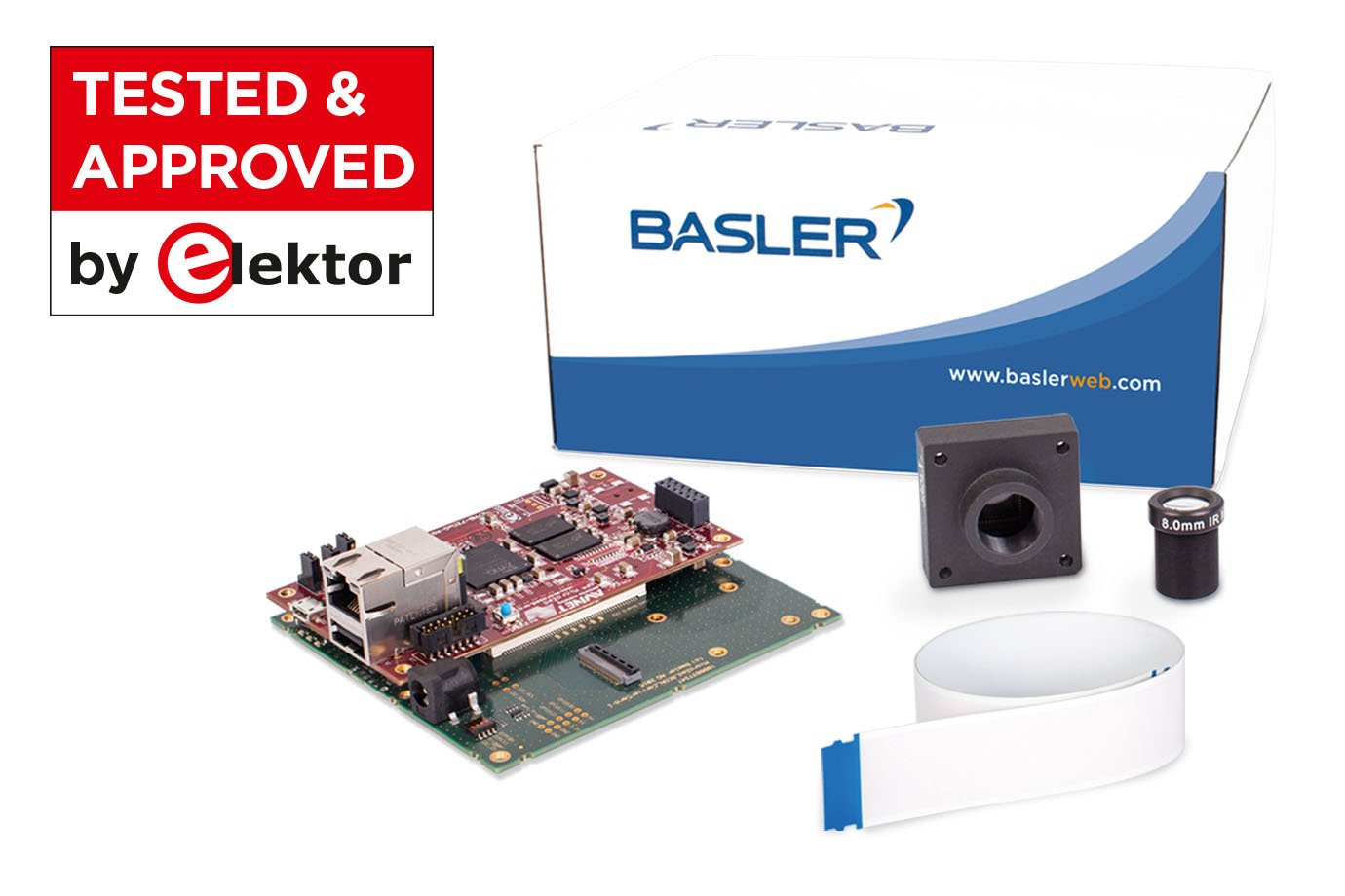 Mit Baslers dart BCON for LVDS Development Kit