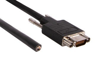 - I/O Cable, Micro-D15 / open, 1.83 m